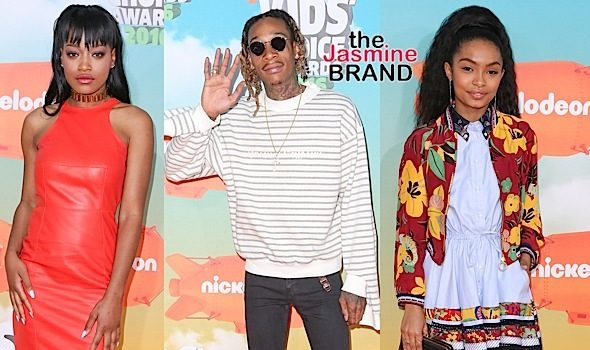 Kids Choice Awards Red Carpet: Wiz Khalifa, Keke Palmer, Anthony Anderson, Yara Shahidi, Babyface