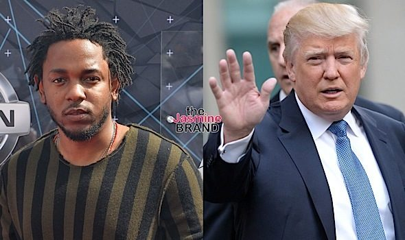 Protesters Chant Kendrick Lamar at Donald Trump's Cancelled Chicago Rally [VIDEO]