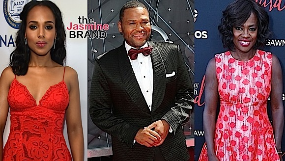 Scanda's Kerry Washington, Black-ish's Anthony Anderson, How To Get Away With Murder's Viola Davis