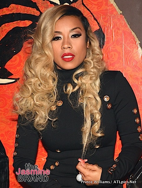Keyshia Cole Hints At Beef w/ Family Member