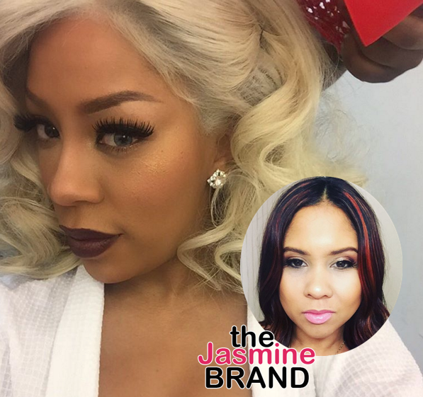 K.Michelle Goes Off On Angela Yee: What you did was f*ck*d up! [AUDIO]