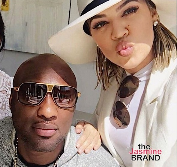 Lamar Odom, Khloe Kardashian on Easter