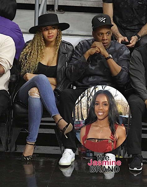 Jay Z and Beyonce' love coming out to the games.