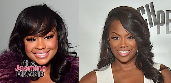 Phaedra Parks Shades Kandi Burruss For Speculating About Feds Visit [VIDEO]