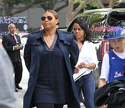 What Break-Up?! Queen Latifah Spotted Out With Girlfriend Eboni Nichols [Photo]