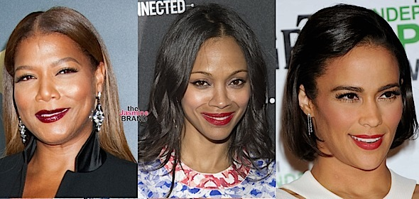 Queen Latifah, Zoe Saldana, Paula Patton