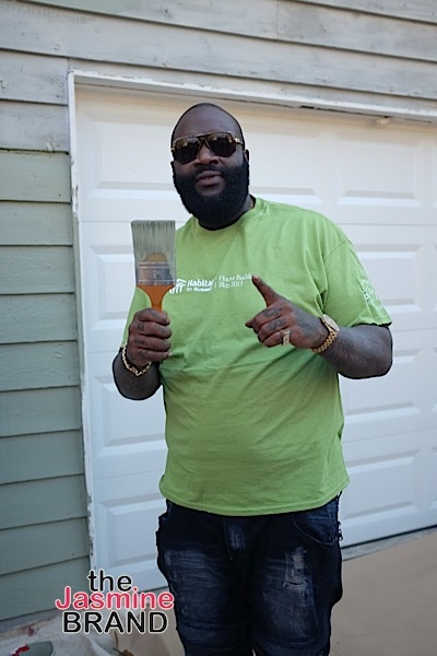 Rick Ross Partners With Southern Crescent Habitat For Humanity In Efforts To Eliminate Poverty [Photos]