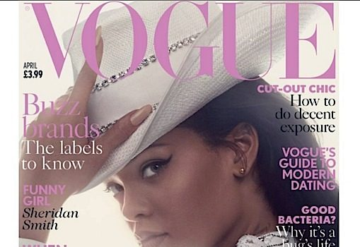 Rihanna Launches Shoe Collection With Manolo Blahnik, Covers British Vogue [Photos]