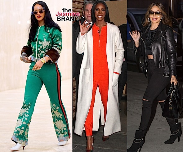 Celebrity Stalking: Rihanna, Kelly Rowland, Lala Anthony, Reggie Miller, Gilbert Arenas, Floyd Mayweather [Photos]