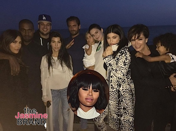 Rob Kardashian Reunites With Family For Birthday, Blac Chyna M.I.A. [Photos]