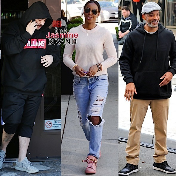 Rob Kardashian, Kelly Rowland, Will Smith