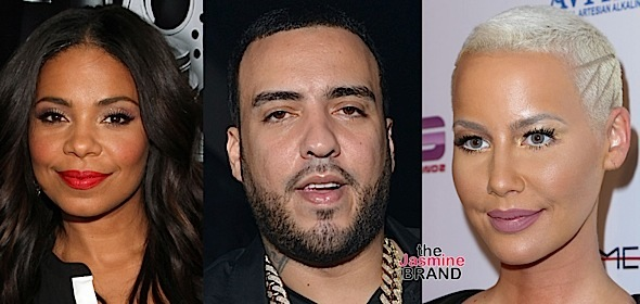 Sanaa Lathan, French Montana, Amber Rose