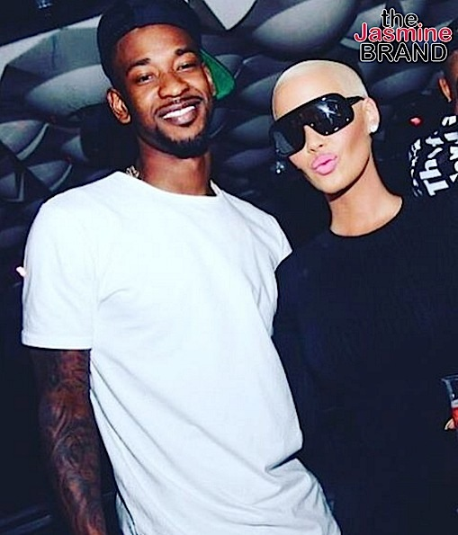 Amber Rose Dating NBA Baller Terrence Ross? [Photos]