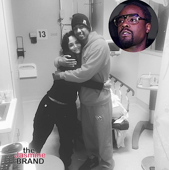 Nick Cannon & Wale Encourage Kehlani After Suicide Attempt [Photos]