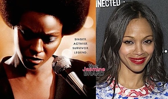 Zoe Saldana Dragged Over Nina Simone Poster + See the Trailer [VIDEO]