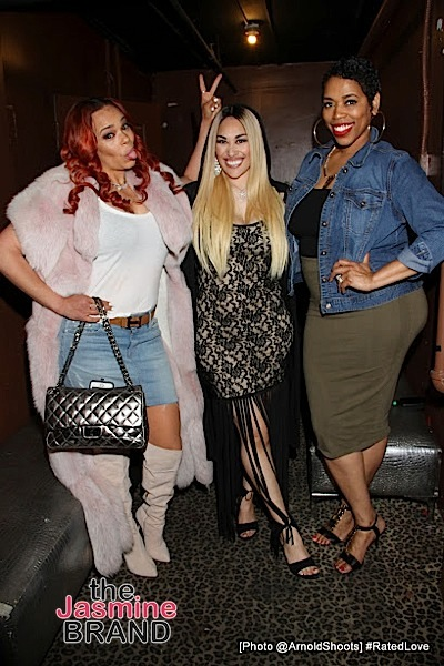 Faith Evans, Keke Wyatt, Nicci Gilbert