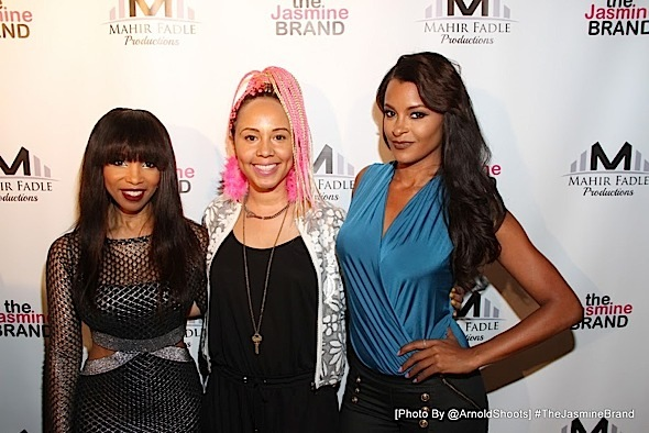 Claudia Jordan, Elise Neal, Jackie Christie, Sundy Carter, Miles Brock Celebrate 'The Next 15' Viewing Party [Photos]
