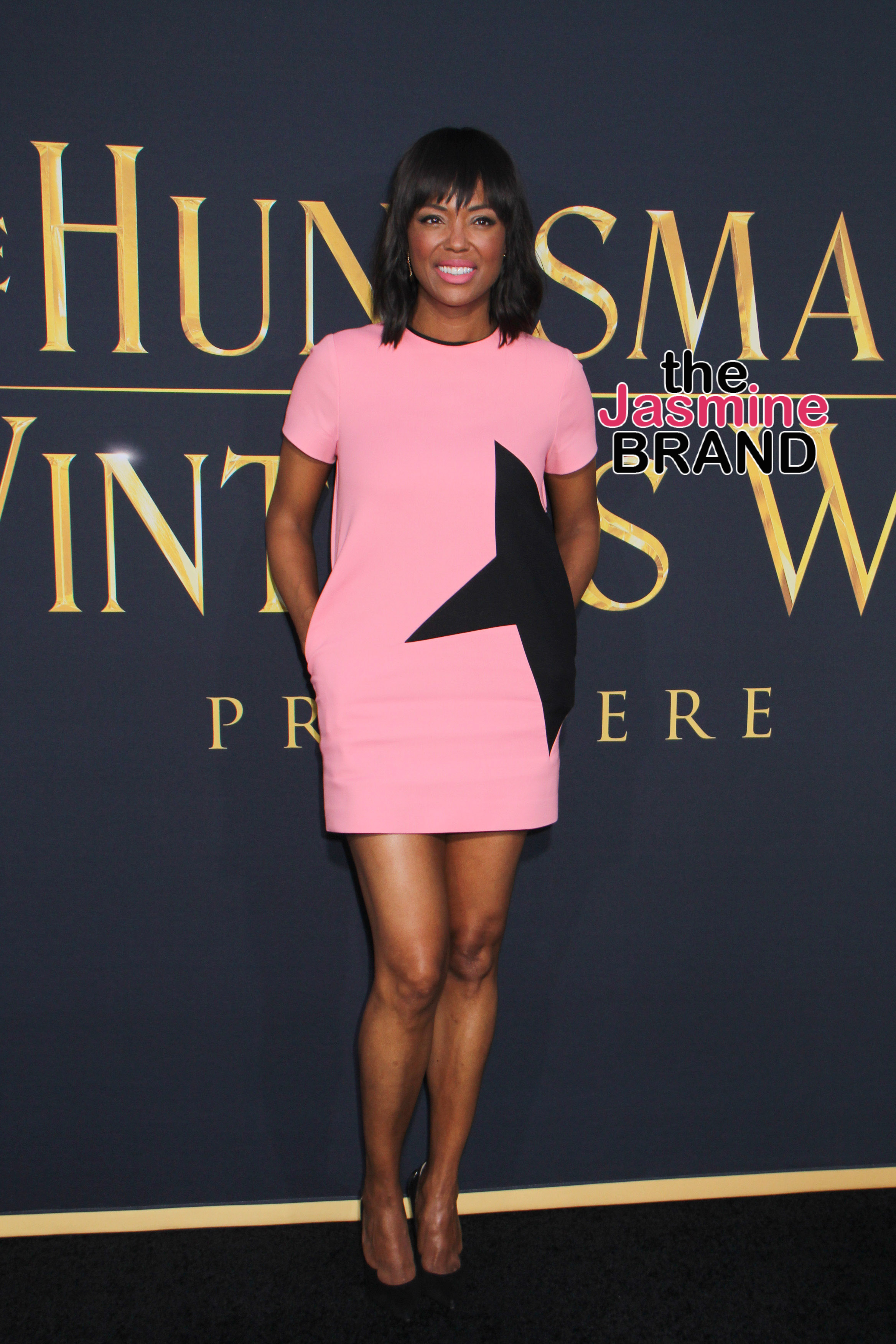 "04/11/2016 - Aisha Tyler - ""The Huntsman: Winter's War"" Los Angeles Premiere - Arrivals - Regency Village Theatre - Westwood, CA, USA - Keywords: Vertical, Film Premiere, Movie Premiere, Arrival, Portrait, Photography, Film Industry, Red Carpet Event, Arts Culture and Entertainment, Celebrity, Celebrities, Regency Village Theater, Universal Pictures, Westwood Neighborhood of Los Angeles, California Orientation: Portrait Face Count: 1 - False - Photo Credit: Kazuki Hirata / HollywoodNewsWire.net / PRPhotos.com - Contact (1-866-551-7827) - Portrait Face Count: 1"