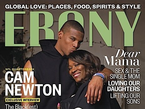 NFL'er Cam Newton Covers EBONY [Photos]