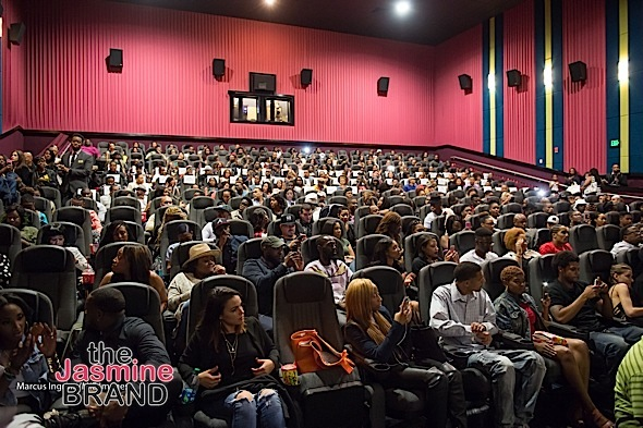 Audience at KEANU ATL special screening