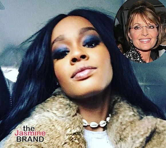 Azealia Banks Apologizes After Suggesting Sarah Palin Suck On A Big Black D**k