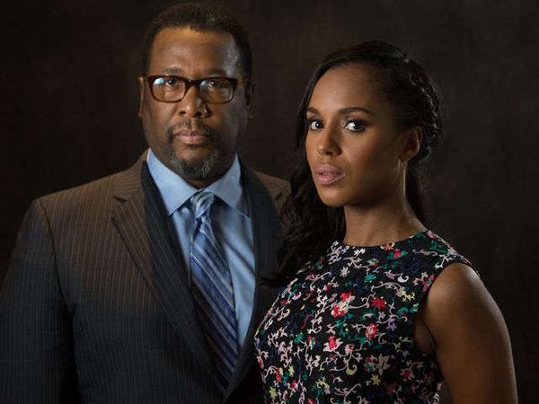 Wendell Pierce, Kerry Washington
