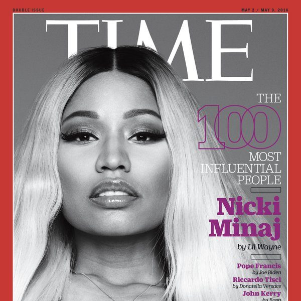 Nicki Minaj Named In Time's 100 Most Influential People + Idris Elba, Taraji P. Henson, Kendrick Lamar, Ryan Coogler