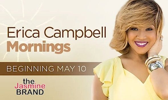 Erica Campbell Snags Radio Show