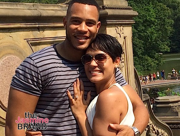 Grace Gealey Confirms Married to Trai Byers-the jasmine brand