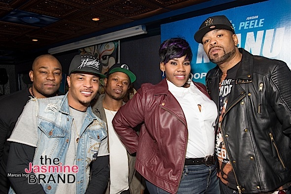 TI, Jason Mitchell, Kelly Price, Method Man