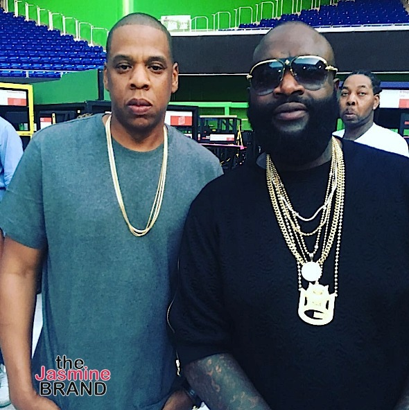 Jay Z, Rick Ross, Lil Wayne, Michelle Williams, 2 Chainz Spotted At Beyonce's 'Formation' Show [Photos]