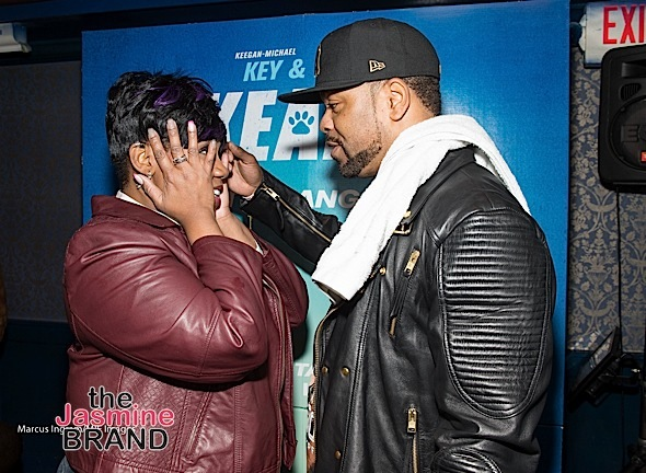 Kelly Price - Method Man at After-Party 2