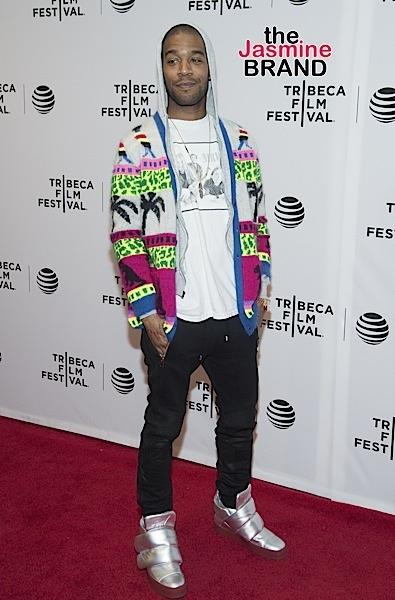 "Kid Cudi at the Tribeca Film Festival - ""Vincent-N-Roxxy"" Premiere."