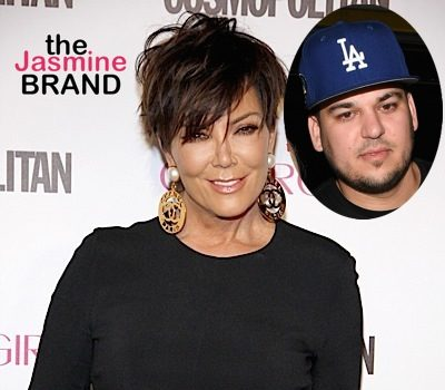 Kris Jenner Defends Rob Kardashian, Tells Daughters to 'F**k off!' [VIDEO]