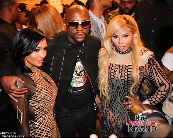 Angel Brinks, Floyd Mayweather, Lil Kim