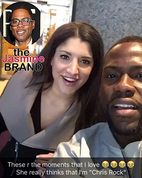 Fan Mistakes Kevin Hart For Chris Rock [VIDEO]