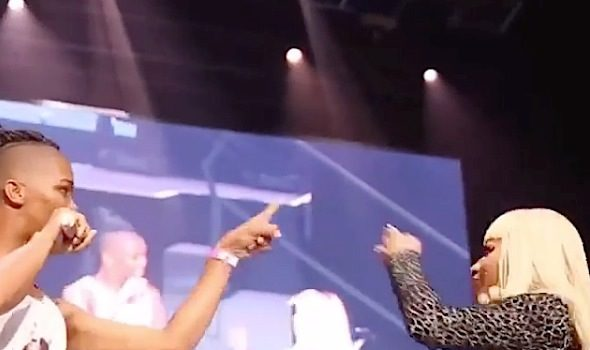 Watch A Fan Make Nicki Minaj Walk Off Stage [VIDEO]