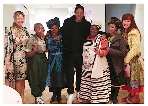 Beyonce, Jay Z & Blue Ivy Visit Cooper Hewitt Design Museum [Photos]