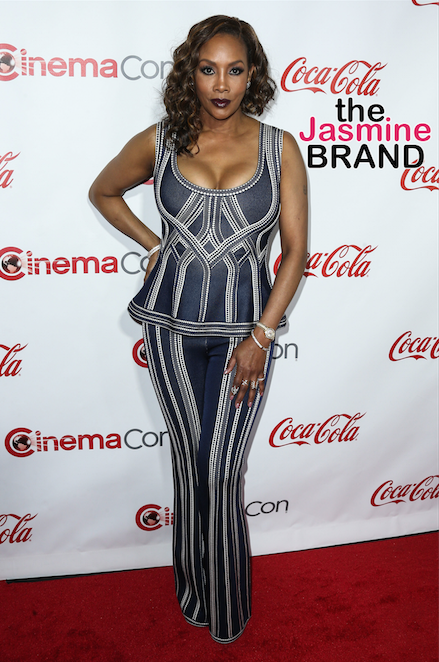 Vivica Fox attends The CinemaCon Big Screen Achievement Awards.