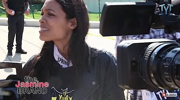 Rosario Dawson Explains Recent Arrest [VIDEO]