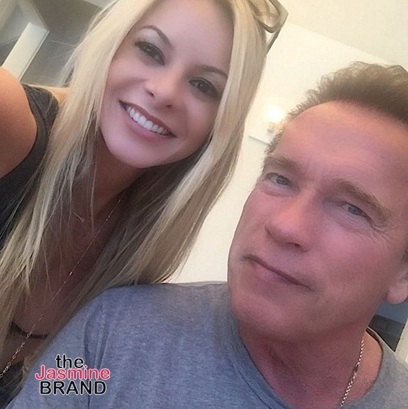 Savannah & Arnold Schwarzenegger