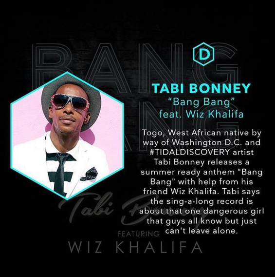 "Tabi Bonney Releases ""Bang Bang"" Featuring Wiz Khalifa [New Music]"