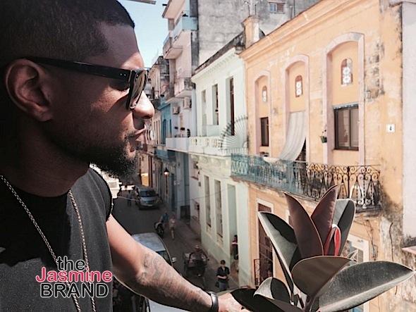 Usher Visits Cuba [Photos]