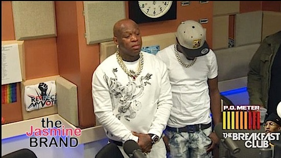 Birdman Accuses Charlmagne of Disrespect, Walks Out On Interview: Stop playing with my f*cking name.