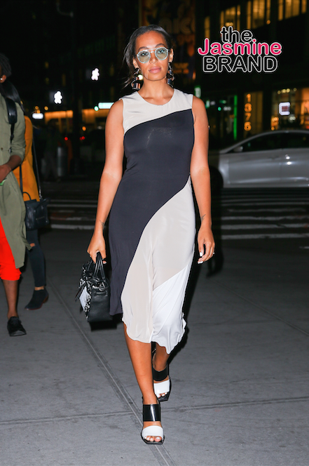 Solange Knowles in New York City, after attending the REED x Kohl's Collection Launch dinner at Kohl's in Midtown.