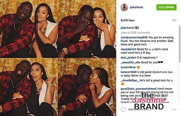 Joie Chavis dating fratello di Akon