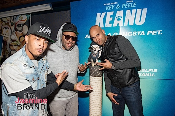 TI - Jordan Peele - Keegan-Michael Key at After-Party