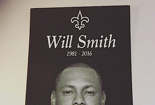 Former NFL'er Will Smith Laid to Rest [Photos]