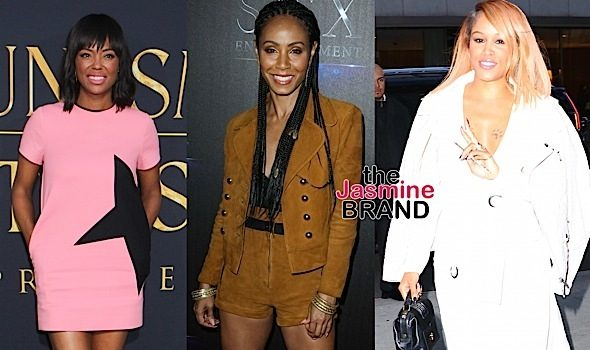 Celebrity Stalking: Jada Pinkett-Smith, Eve, Aisha Tyler, Royalty Brown, Richard & Tina Lawson [Photos]