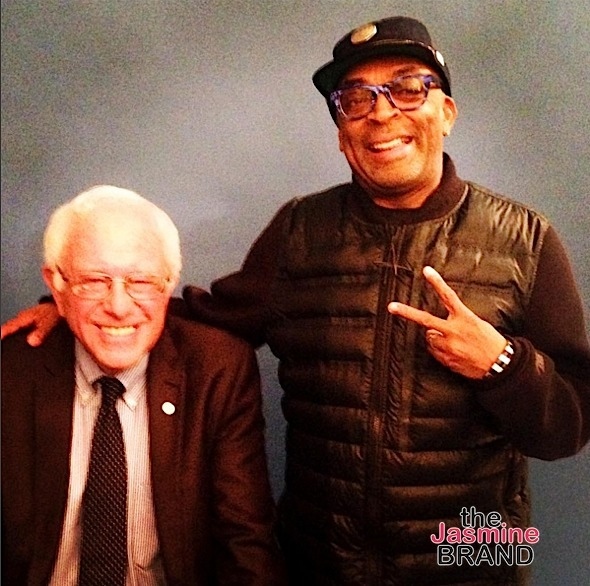 Bernie Sanders, Spike Lee